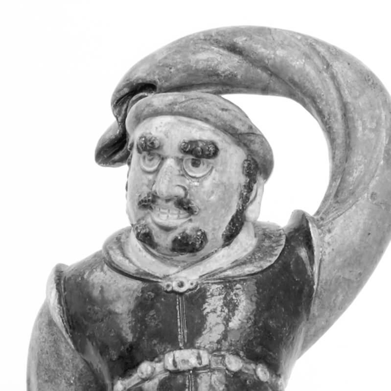 Figura muže nečínské národnosti